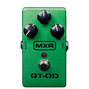 Pedal Para Guitarra Dunlop Mxr Gt Over Drive 6086