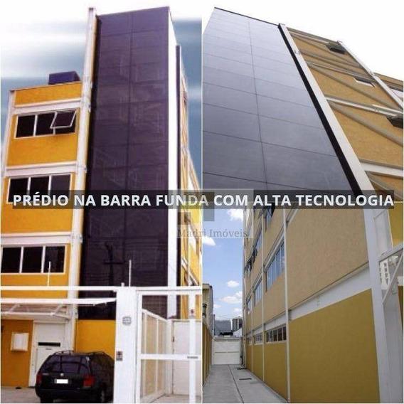 Laje Para Alugar, 225 M² Por R$ 12.000/mês - Barra Funda - São Paulo/sp - Lj0003