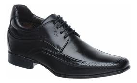 Sapato Rafarillo Vegas Alth Você + Alto 7cm 3206 Couro Preto