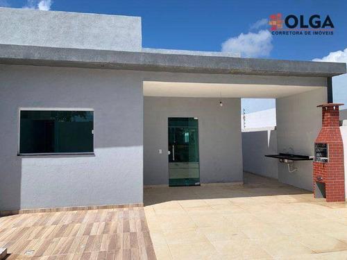 Imagem 1 de 28 de Grande Oportunidade Para Você Adquirir Uma Casa Nova, Com Projeto Exclusivo E Excelente Acabamento, À Venda - Gravatá/pe - Ca0629