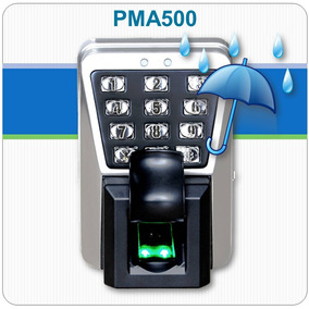 Controle De Acesso Biométrico E Rfid - Ip65 - Ma500 - Zkteco