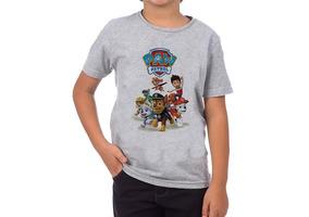 Camiseta Patrulha Canina Infantil Unissex