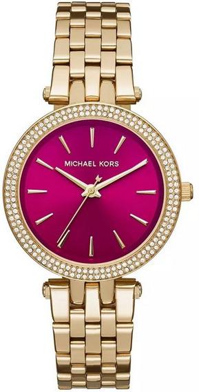 Relógio Michael Kors Feminino Mini Darci Mk3444/4tn