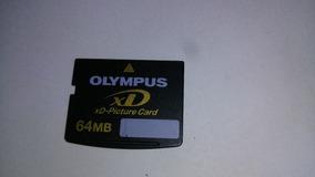 Cartão De Memoria Olympus Xd 64mb (câmeras Antigas)