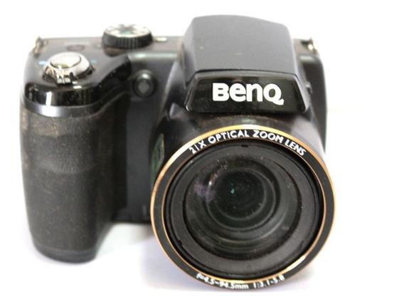 Câmera Digital Super Zoom Benq Gh700 Sucata P/ Retirada Peça