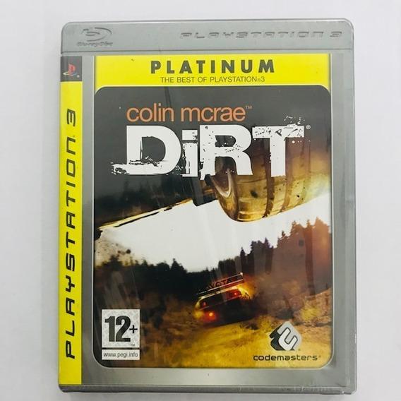 Dirt Colin Mcrae - Ps3 - Edição Platinum - Midia Original