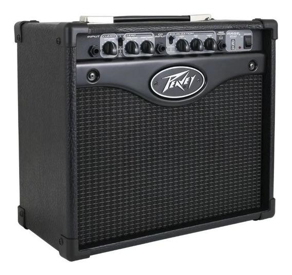 Amplificador Cubo Guitarra Peavey Rage 158 15w Com Overdrive