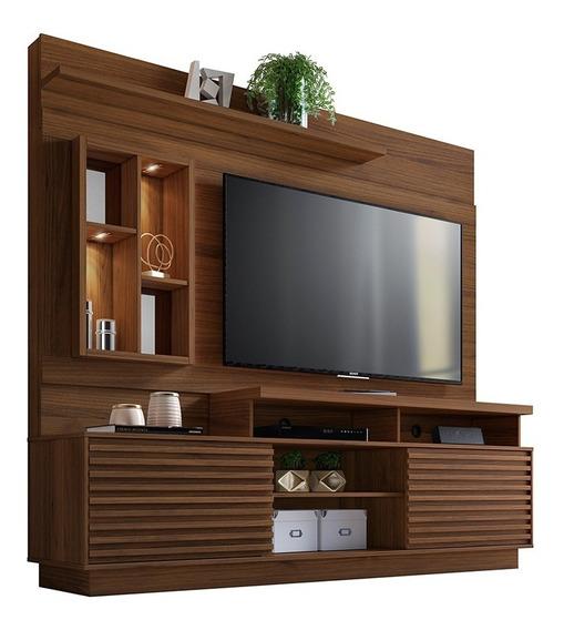 Centro De Entretenimiento El Dorado Nogueira Mueble Para Tv