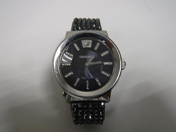 Reloj Dama Swarovski, Excelente Cuidado Con Caja Piazza Jet