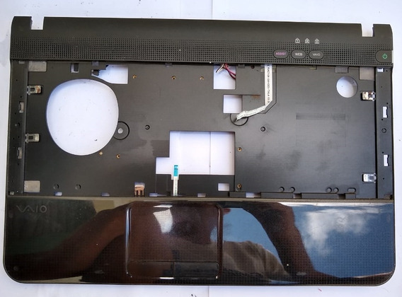 Carcaça Base Superior Notebook Sony Pcg 61211m - Usado