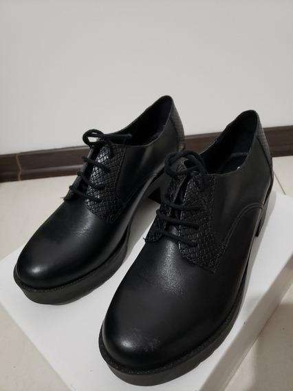 Zapatos Abotinados Talle 37 Nuevos. Ultimos
