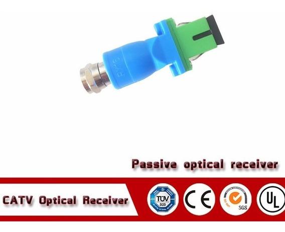 Receptor Óptico Passivo - Ftth - Rf - Catv 40 ~1000 Mhz