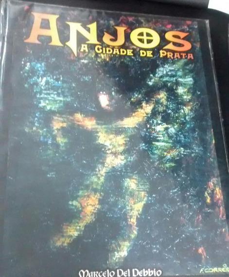 Livro Livro Jogo Rpg Anjos A Cidade Marcelo Del Debbio