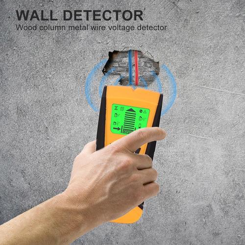 Weehey Detector de Metales 3 en 1 Detecci/ón de Cables de Metal Detector de Cables en Vivo Detector de Pared Detector de Pared Buscador de Caja El/éctrica