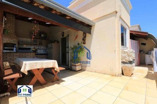 Cobertura Com 3 Dormitórios À Venda, 115 M² Por R$ 350.000,00 - Higienópolis - São José Do Rio Preto/sp - Co0012