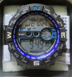 Reloj Deportivo 082 Crono Alarma Calendario Lomas De Zamora