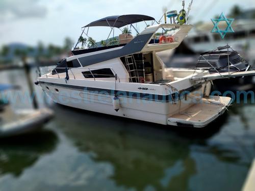 Lancha Intermarine 440 Full Barco Iate Ferreti Azimut Axtor