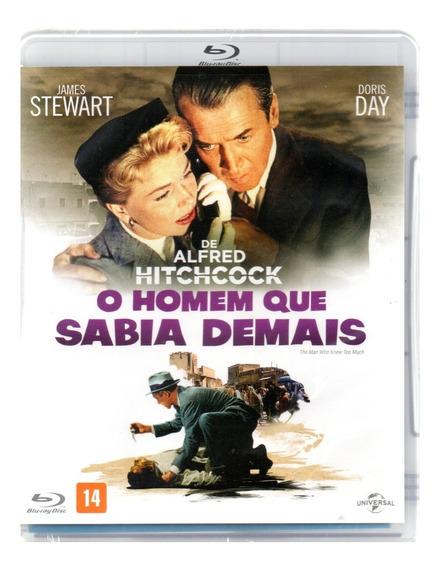 Blu-ray O Homem Que Sabia Demais - Universal - Bonellihq M20