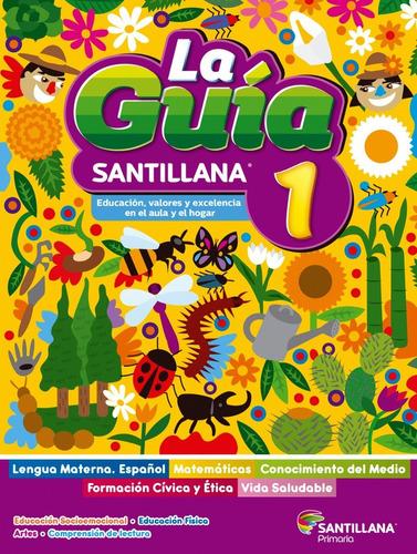 Imagen 1 de 4 de La Guia Santillana 1º Primaria Oficial 2021 - 2022 3 Pack