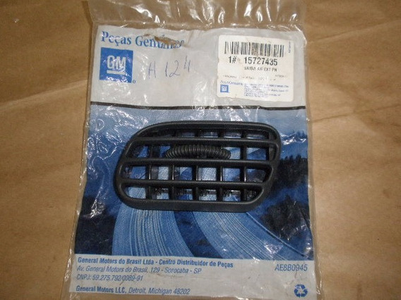 Difusor Ar Painel S10 2011/2011 Lateral Esquerda Gm 15727435