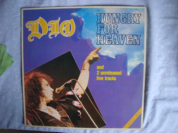 Lp Ronnie James Dio Hungry For Heaven Disco Mix