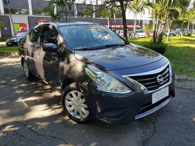 Nissan Versa 1.6 Sv 2016 Cinza 53 Mil Km Unica Dona