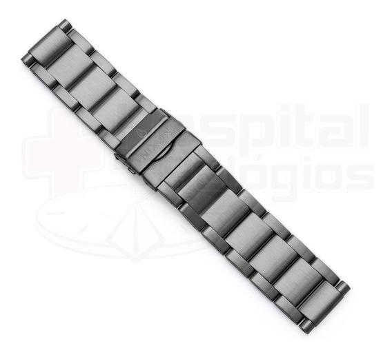 Pulseira Nixon 42-20 100% Original Aço Gunmetal A035632 [j6]