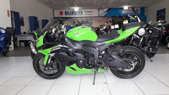 Kawazaki Zx 6 R 2012 Verde + Equip + Originais