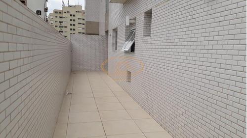 Apartamento  Com 2 Dormitório(s) Localizado(a) No Bairro Boqueirão Em Santos / Santos  - 6798