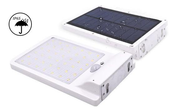 Luminária Solar 36 Leds À Prova D
