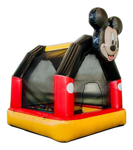 Piscina De Bolinhas Mickey Play Park Com Motor Soprador
