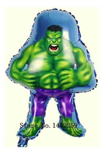Globo Avengers  Globo Metalizado De Hulk Bomba Hulk