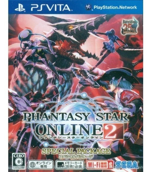 Phantasy Star On Line 2 Special Package Ps Vita