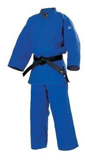 Judo Gi Jiu Jitsu Azul Mizuno 3.5 O A3 Para Competición