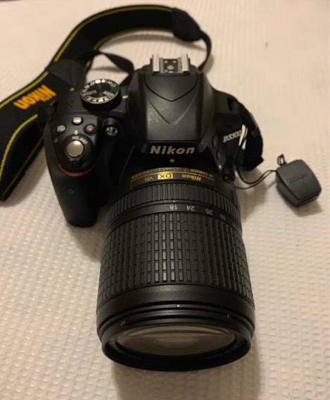 Nilton D3300 Com 18-140mm