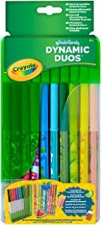 Crayola Dynamic Duos Super Tips Markers By Crayola