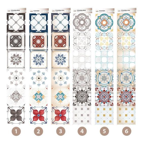 Azulejos - Vinilos Decorativos Autoadhesivos X6u De 20x20 Cm