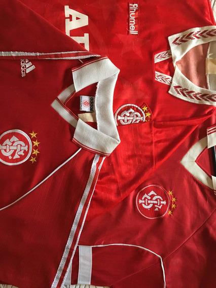 3 Camisas De Futebol Sport Club Internacional - Colecionador