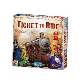 Los Juegos De Cartas De La Mesa Ticket To Ride De Days Of
