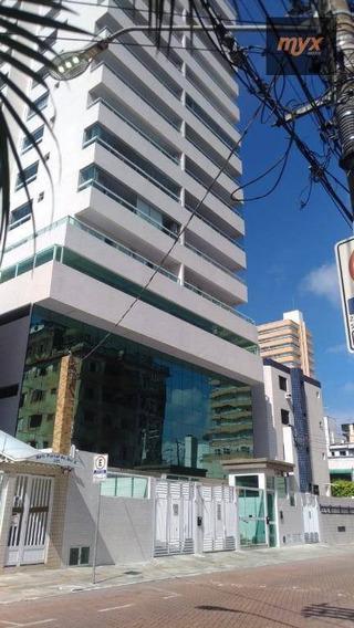 Apartamento Para Alugar, 121 M² Por R$ 3.500,00/mês - Boqueirão - Praia Grande/sp - Ap5746