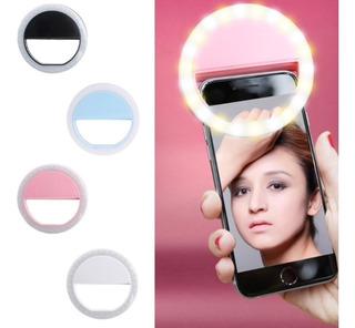 Luz Led Selfie Portable Celular Fotografía iPhone Android