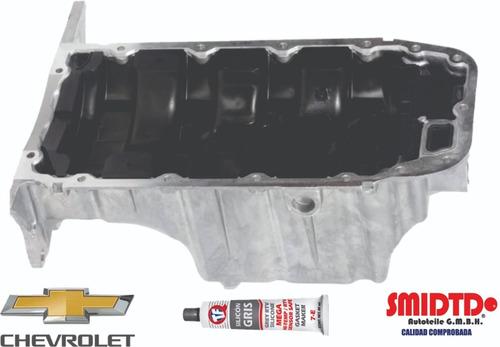 Imagen 1 de 6 de 1 Carter Con Tapon Para Chevrolet Sonic 12-17 1.6l 1 Deflector 1 Colador De Aceite 1 Silicon Envío Gratis