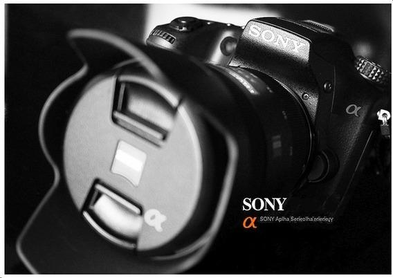 Câmera Sony A58 Perfeito Estado - Somente Corpo + Acessórios