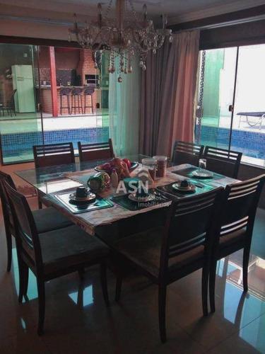 Casa Com 4 Dormitórios À Venda, 380 M² Por R$ 750.000,00 - Enseada Das Gaivotas - Rio Das Ostras/rj - Ca0760