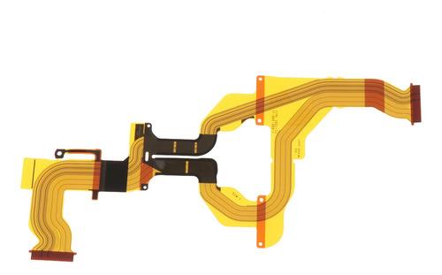 Conector De Cabo Flexível De Lcd Rotativo Para Sony Nex-5t
