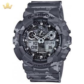 Relógio Casio G-shock Masculino Ga-100cm-8adr Com Nf