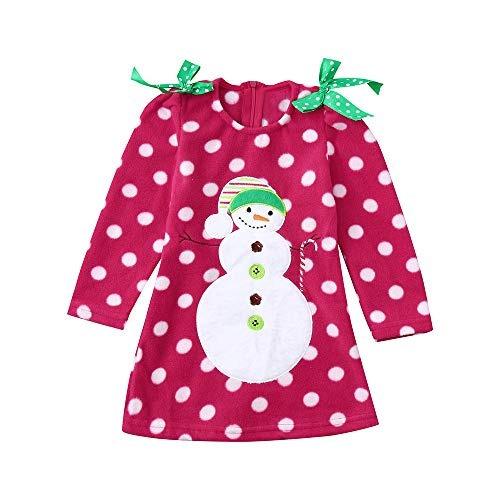c4e4fc5d9 Lurryly ¿vestidos De Muñeco De Nieve De Navidad Para...