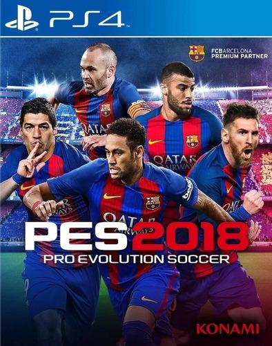 Imagen 1 de 4 de Pes 2018 Pro Evolution Soccer Juego Físico Ps4