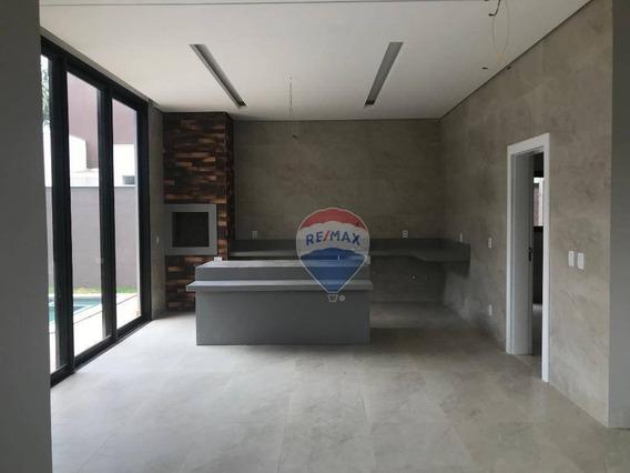Venda - Casa Nova Condomínio Florais Dos Lagos. - Ca0843