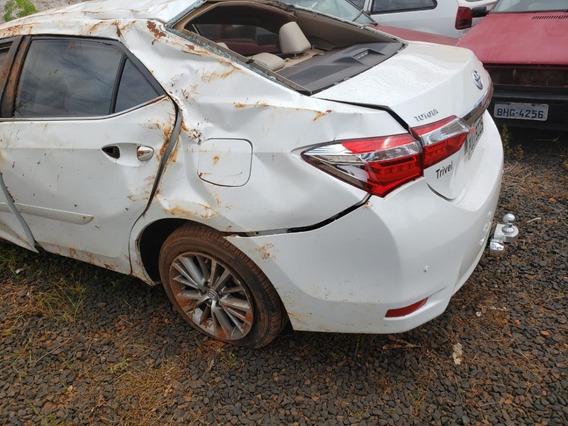 Toyota Corolla Sedan 2.0 Flex Altis Batido R$23.500,00